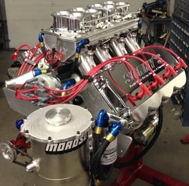 Sonny's 820 cu. in. Hemispherical Headed EFI Marine  Engine - Sonny's Racing Engines & Components