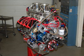 Sonny's 775 cu. in Hemispherical Headed Truck Pull Engine - Sonny's Racing Engines & Components