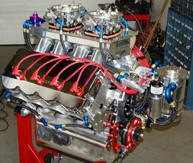 "EXTREME PRO STOCK 932 CU. IN. SEMI-HEMISPHERICAL 5.300"" BORE SPACING  2025 HP - Sonny's Racing Engines & Components"