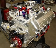 615 CU. IN. 14.5 PONTIAC 1X4 PRO STREET PUMP GAS ENGINE (1000hp)