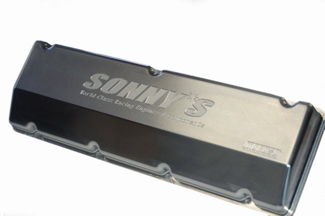 Sonny's 5.3 Wedge Billet Valve Covers