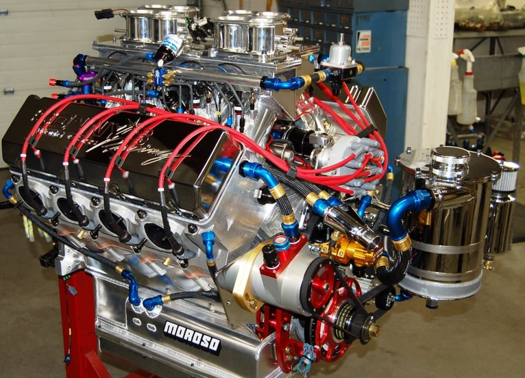 PRO MOD 903 CU  IN  ENGINE OVER 2850HP ON FOUR SYSTEMS