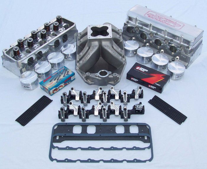 "PB1802 BIG DUKE 18 DEGREE ""AS CAST"" PONTIAC HEADS - Sonny's Racing Engines & Components"