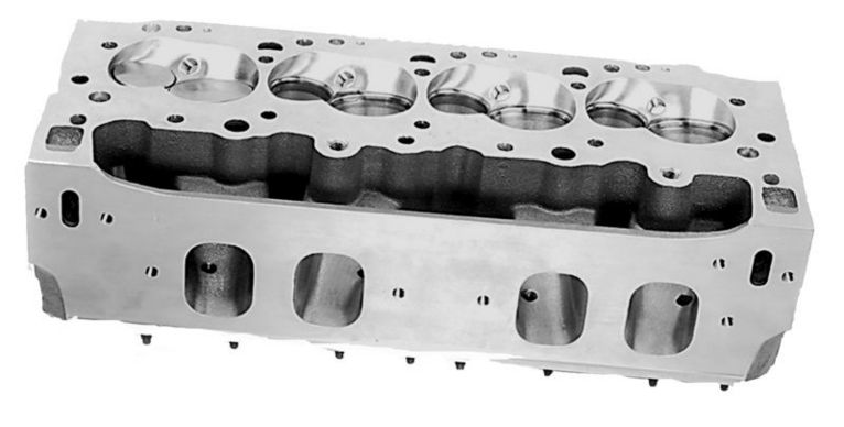 SONNY'S 14.5 DEGREE BRODIX PONTIAC HEADS FOR MARINE APPLICATIONS - Sonny's Racing Engines & Components