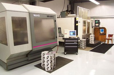 3 Precision 5-axis CNC machines produce flawless heads daily.