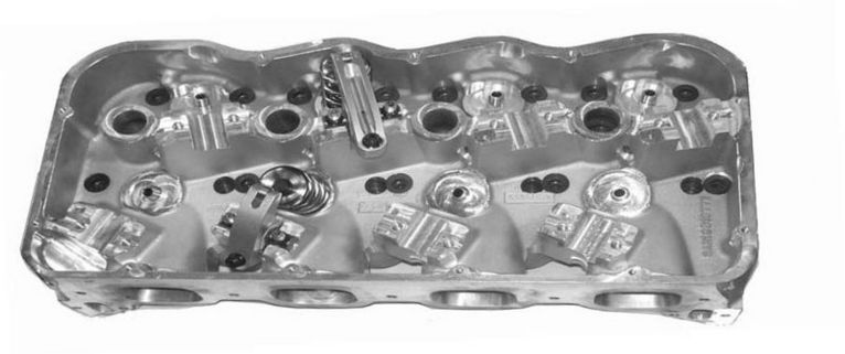 "5.000 BORE SPACING ""NEXT GENERATION"" HEMISPHERICAL CYLINDER HEADS, COMPLETE WITH COMPONENTS, ASSEMBLED, RACE READY - Sonny's Racing Engines & Components"
