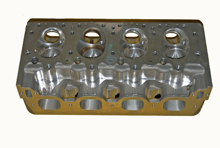 SONNY'S 5.3 BORE SPACE GM STYLE HEMISPHERICAL CYLINDER HEADS, COMPLETE WITH COMPONENTS, RACE READY, FULLY ASSEMBLED - Sonny's Racing Engines & Components