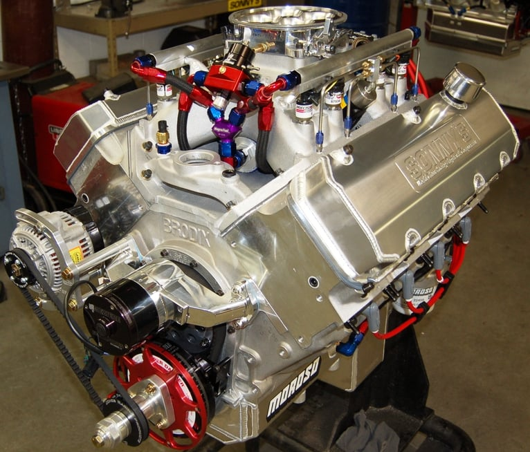 615 CU  IN  14 5 PONTIAC 1000 HP PUMP GAS STREET ENGINE