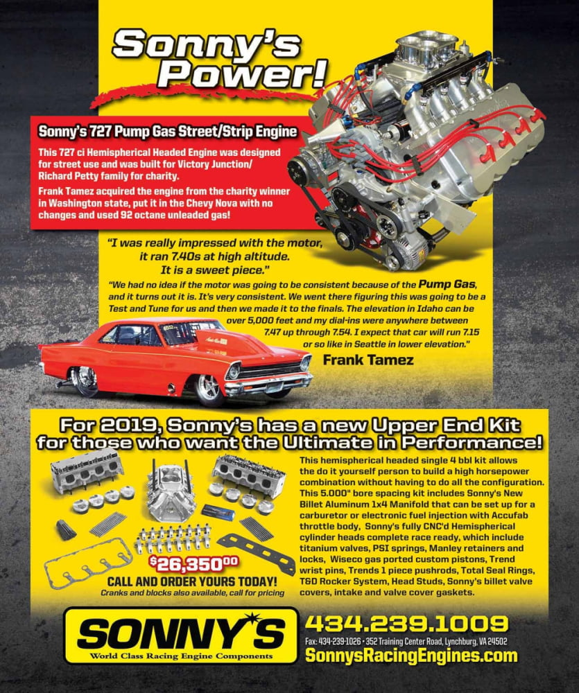 Drag Racing Engines - Truck Pull Engines - Sonny's Racing