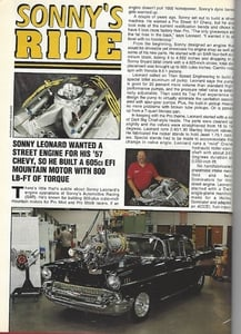 Chevy High Performance - August 1995