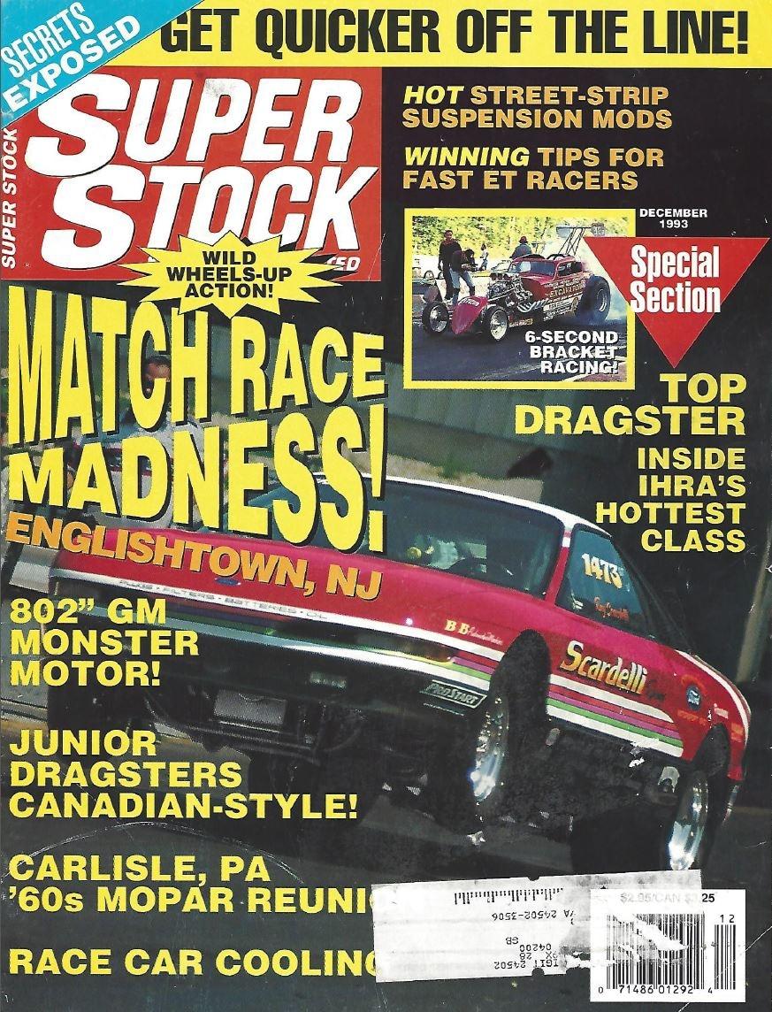 Super Stock - December 1993 - Sonny's Racing Engines