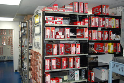 Sonny's keeps over a million dollars in inventory at all times, to supply our customers.