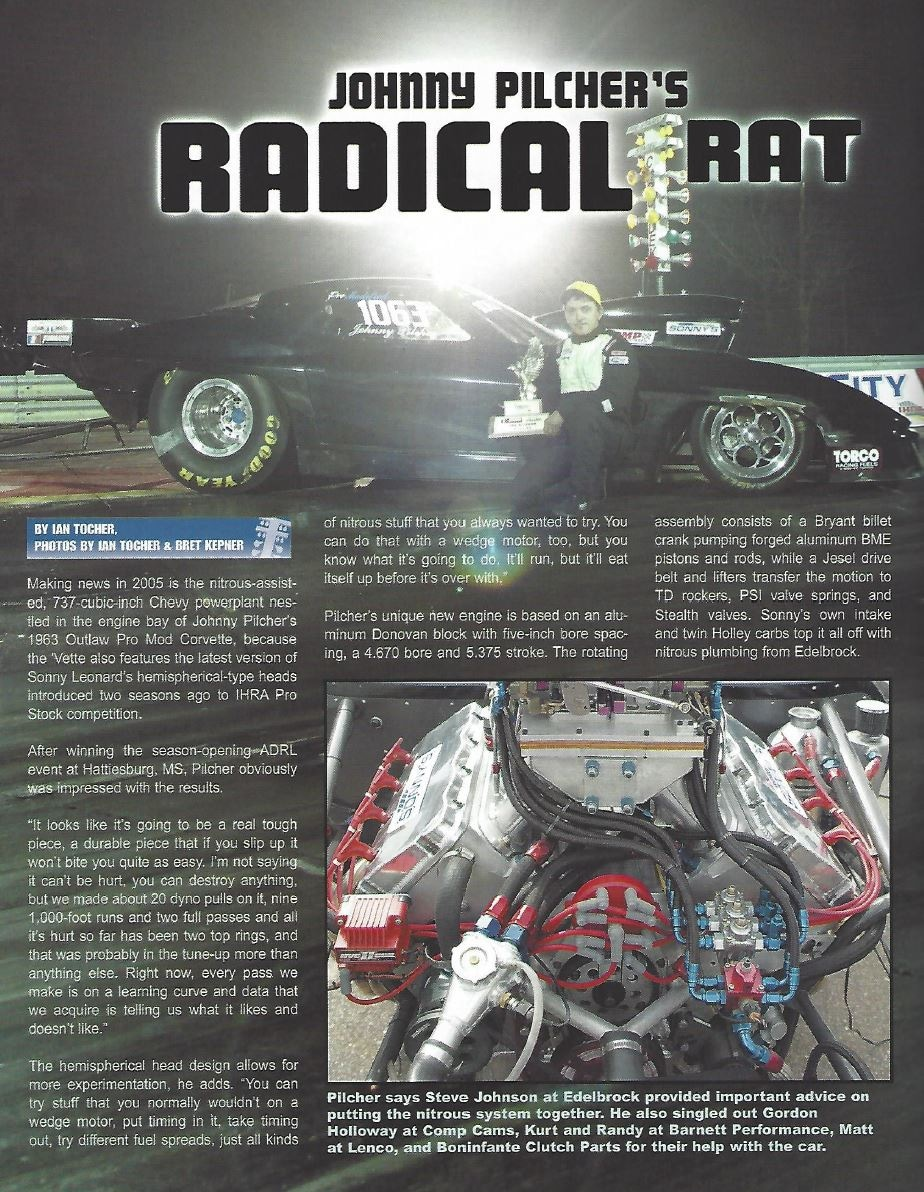 Adrenaline - May 2005 - Sonny's Racing Engines