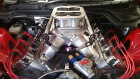 SONNY'S 727 cu.in 1400+ HP HEMISPHERICAL HEADED 1X4 PUMP GAS ENGINE - Sonny's Racing Engines & Components