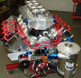 "SONNY'S ULTIMATE TOP SPORTSMAN, TOP DRAGSTER 828 CU. IN. 5.300"" BORE SPACE ENGINE - Sonny's Racing Engines & Components"