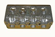 SONNY'S 5.3 BORE SPACE GM STYLE HEMISPHERICAL CYLINDER HEADS, COMPLETE WITH COMPONENTS, RACE READY, FULLY ASSEMBLED